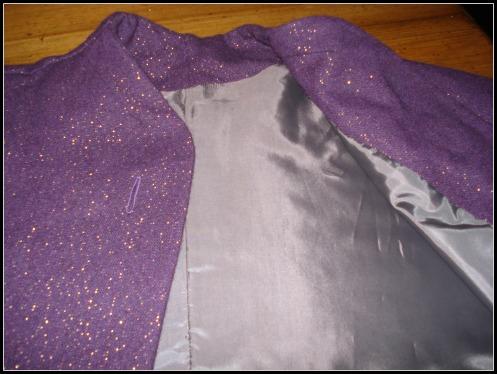 vogue jacket lining