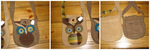 craftfair owl purses