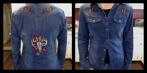 denim shirt redo
