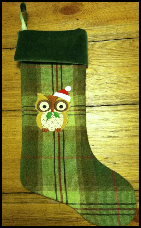 owl stocking